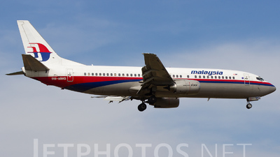 9M-MMG - Boeing 737-4H6 - Malaysia Airlines