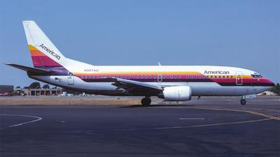 N307AC - Boeing 737-3A4 - American Airlines