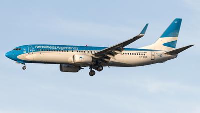 A picture of LVGVC - Boeing 737887 - Aerolineas Argentinas - © Flavio García Photos