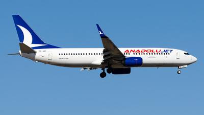 TC-JZV - Boeing 737-8AS - AnadoluJet