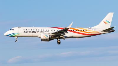 A picture of B3115 - Embraer E190LR - Colorful GuiZhou Airlines - © EK4822