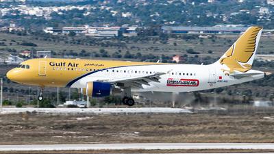 A9C-AG - Airbus A320-214 - Gulf Air