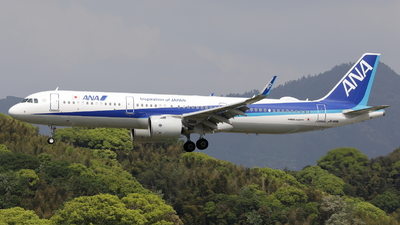 A picture of JA149A - Airbus A321272N - All Nippon Airways - © OHMOTO Masao