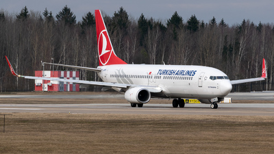 A picture of TCJVM - Boeing 7378F2 - Turkish Airlines - © Dima Molokovich