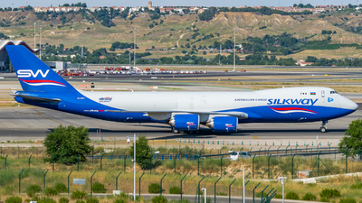 VQ-BWY - Boeing 747-83QF - Silk Way West Airlines
