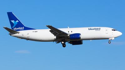 A picture of TFBBM - Boeing 7374Q8(SF) - Bluebird Nordic - © Kris Van Craenenbroeck