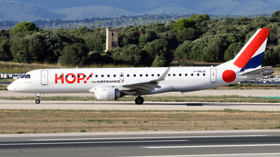 A picture of FHBLB - Embraer E190LR - Air France - © Javier Rodriguez - Amics de Son Sant Joan
