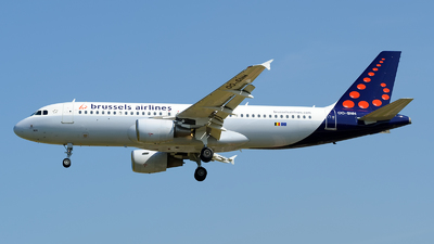OO-SNH - Airbus A320-214 - Brussels Airlines