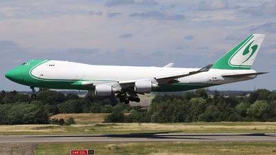 OO-ACF - Boeing 747-4EVERF - ACE Belgium
