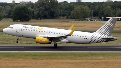 EC-LVS - Airbus A320-232 - Vueling Airlines