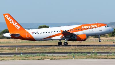 A picture of HBJXD - Airbus A320214 - easyJet - © Fabrizio Spicuglia