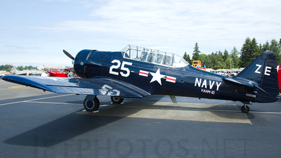 N2834D - North American AT-6 Texan - Private