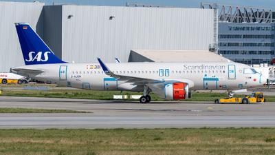D-AUBM - Airbus A320-251N - Scandinavian Airlines (SAS)