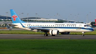 B-3210 - Embraer 190-100LR - China Southern Airlines