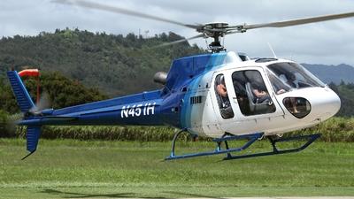 N451H - Eurocopter AS 350B2 Ecureuil - Island Helicopters Kauai