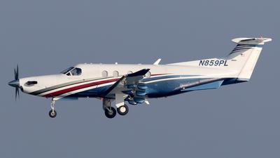 N859PL - Pilatus PC-12/47 - Private