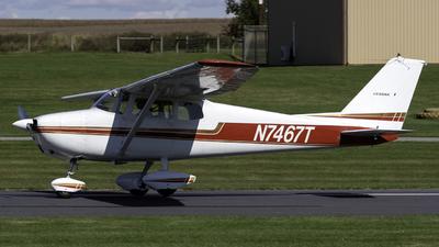 A picture of N7467T - Cessna 172A Skyhawk - [47067] - © Connor Ochs