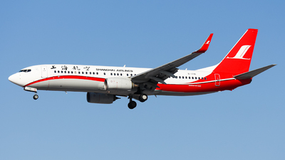 A picture of B1741 - Boeing 73786D - Shanghai Airlines - © Northrop_L