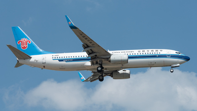 A picture of B1409 - Boeing 73781B - China Southern Airlines - © xuhaoqing995