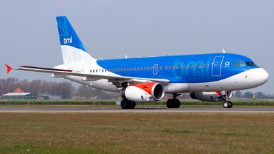 G-DBCJ - Airbus A319-131 - bmi British Midland International