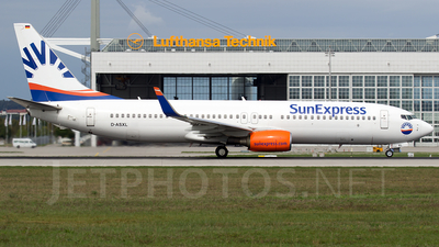A picture of DASXL - Boeing 7378EH - [35835] - © Martin Tietz