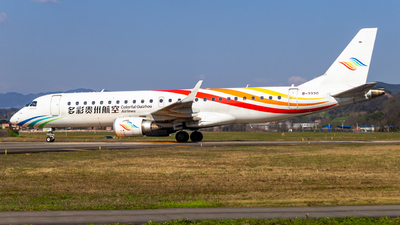 A picture of B3320 - Embraer E190LR - Colorful GuiZhou Airlines - © SINO6702