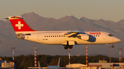 HB-IXW - British Aerospace Avro RJ100 - Swiss