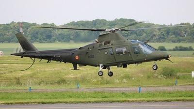 H38 - Agusta A109BA - Belgium - Army