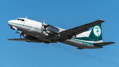 A picture of ZKCIB - Convair 580 - Air Chathams - © DrowsySpotting