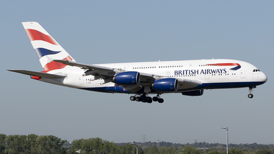 G-XLEL - Airbus A380-841 - British Airways