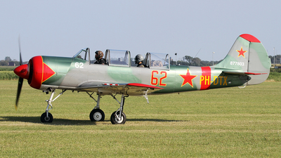 PH-DTX - Yakovlev Yak-52 - Private