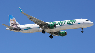 N701FR - Airbus A321-211 - Frontier Airlines