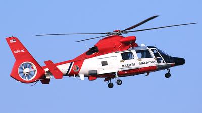 M70-02 - Eurocopter AS 365N3 Dauphin - Malaysia - Maritime