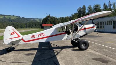 HB-POD - Piper PA-18-180M Super Cub - Albis Wings
