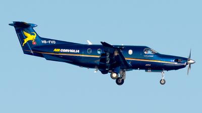 A picture of HBFVD - Pilatus PC12/47E - [1072] - © Medolago Manuel