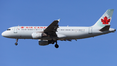 A picture of CGQCA - Airbus A320211 - Air Canada - © hk_346_aviation_photography