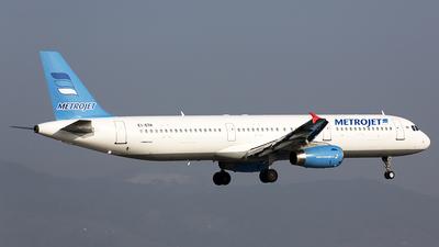 EI-ETH - Airbus A321-231 - MetroJet