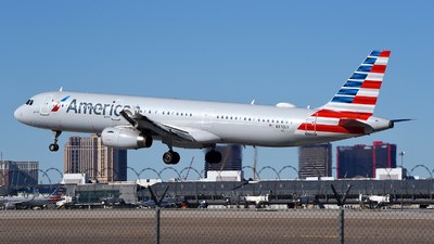 A picture of N970UY - Airbus A321231 - American Airlines - © Rocky Wang