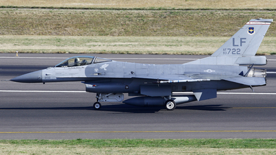 93-0722 - General Dynamics F-16A Fighting Falcon - United States - US Air Force (USAF)