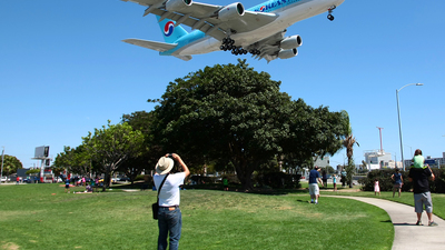 KLAX - Airport - Spotting Location