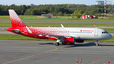 VQ-BSH - Airbus A320-214 - Rossiya Airlines