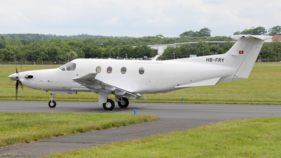 HB-FRY - Pilatus PC-12/47E - Pilatus Aircraft