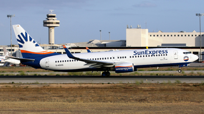D-ASXQ - Boeing 737-8FH - SunExpress Germany