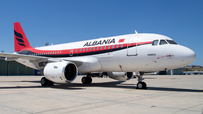 TC-ANA - Airbus A319-115(CJ) - Albania - Government