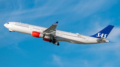 LN-RKT - Airbus A330-343 - Scandinavian Airlines (SAS)