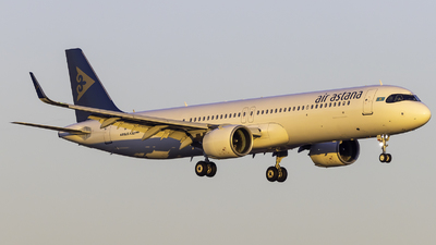 A picture of P4KGA - Airbus A321271NX - Air Astana - © Maik Voigt