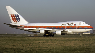 N149UA - Boeing 747SP-21 - United Airlines