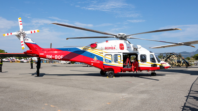 9M-BOF - Agusta-Westland AW-189 - Malaysia - Fire and Rescue Services