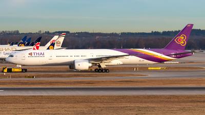 A picture of HSTKN - Boeing 7773AL(ER) - Thai Airways - © Julian Azeroth