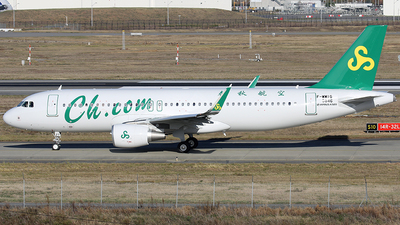 F-WWIG - Airbus A320-214 - Spring Airlines